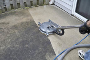 Driveway Concrete Cleaning